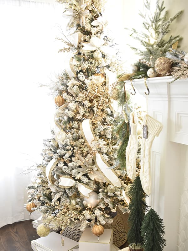 Gold Christmas Tree Design